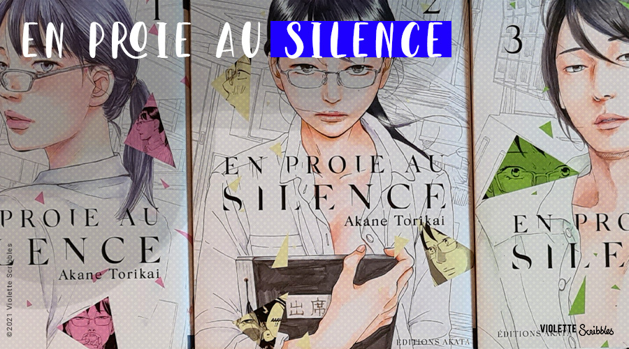 En proie au silence Akane Torikai Avis manga feministe