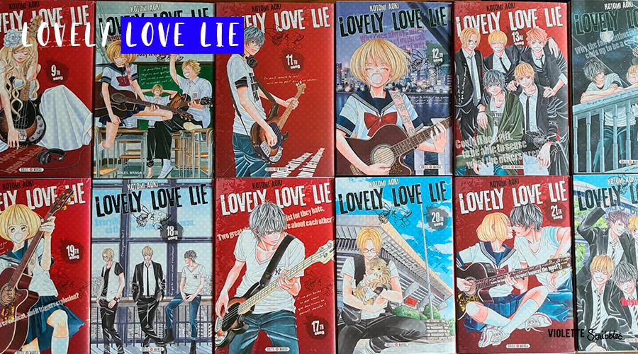 Critique avis Lovely Love Lie Kotomi Aoki